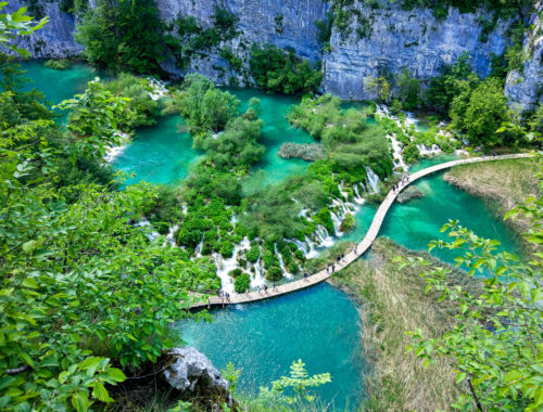Visiting Plitvice Lakes