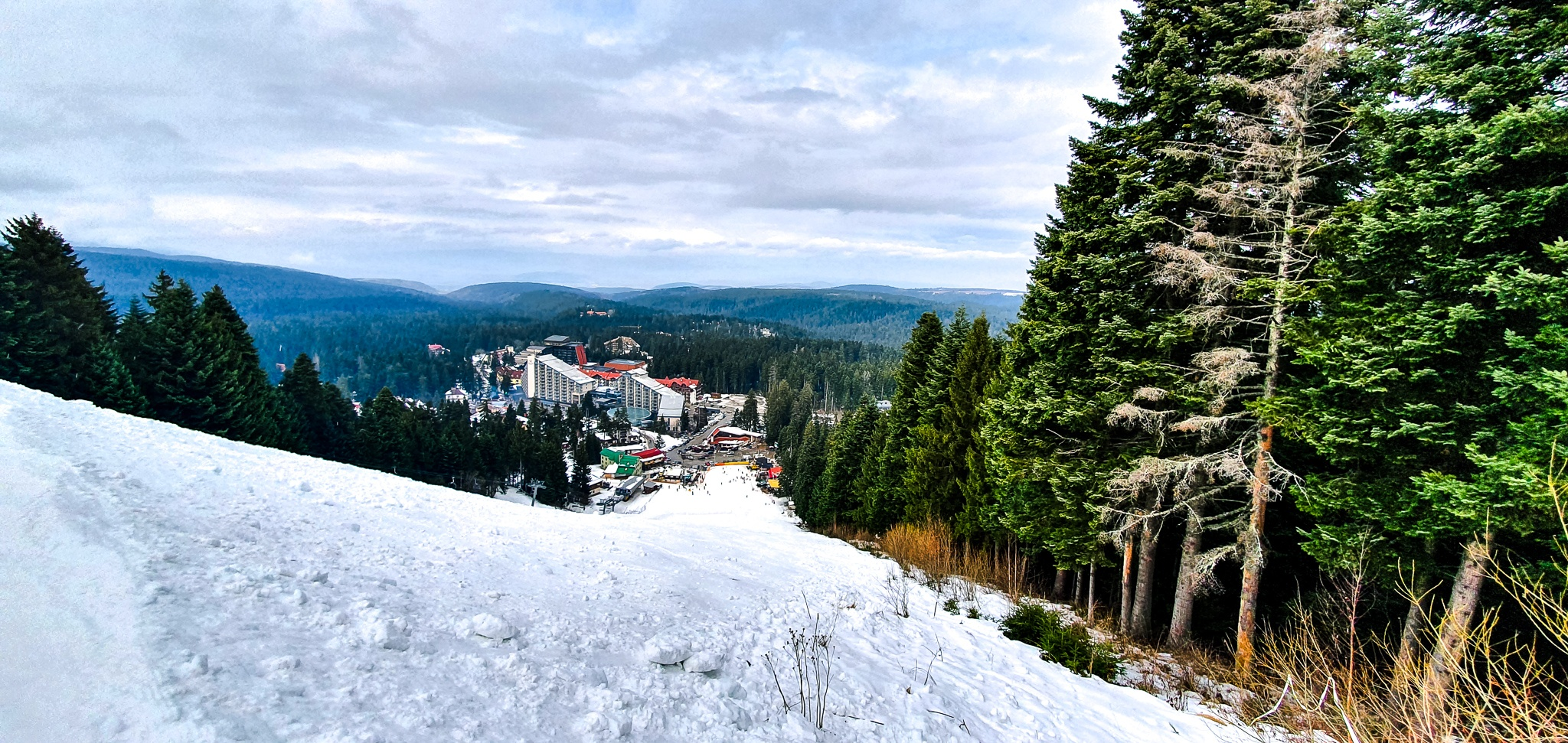 Skiing in Borovets