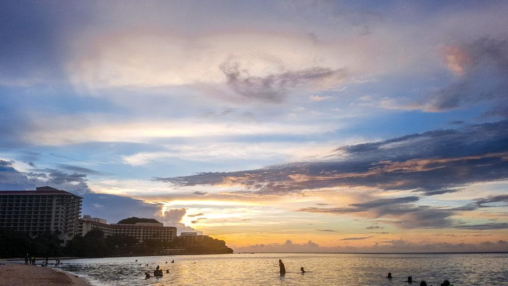 Visitig Guam - Ypao Beach