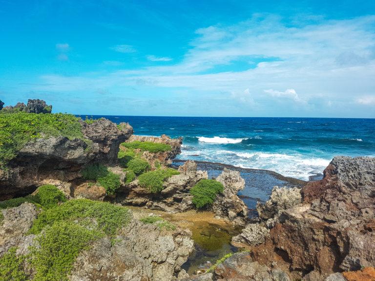 Visiting Guam - Inarajan Pools