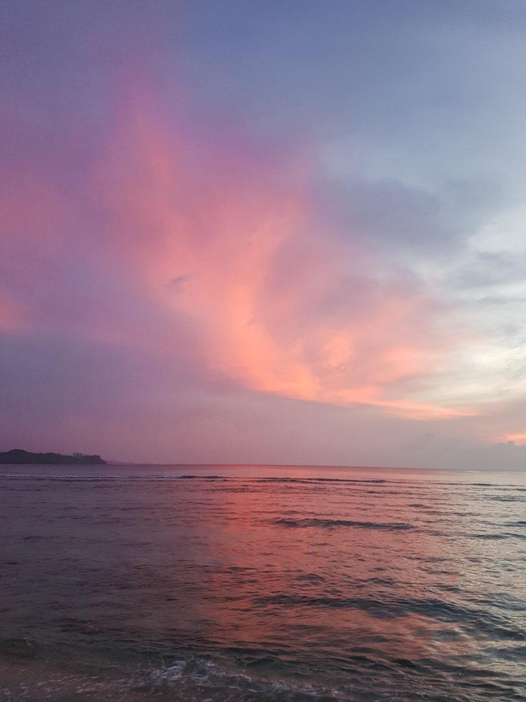 Sunset at Gun Beach