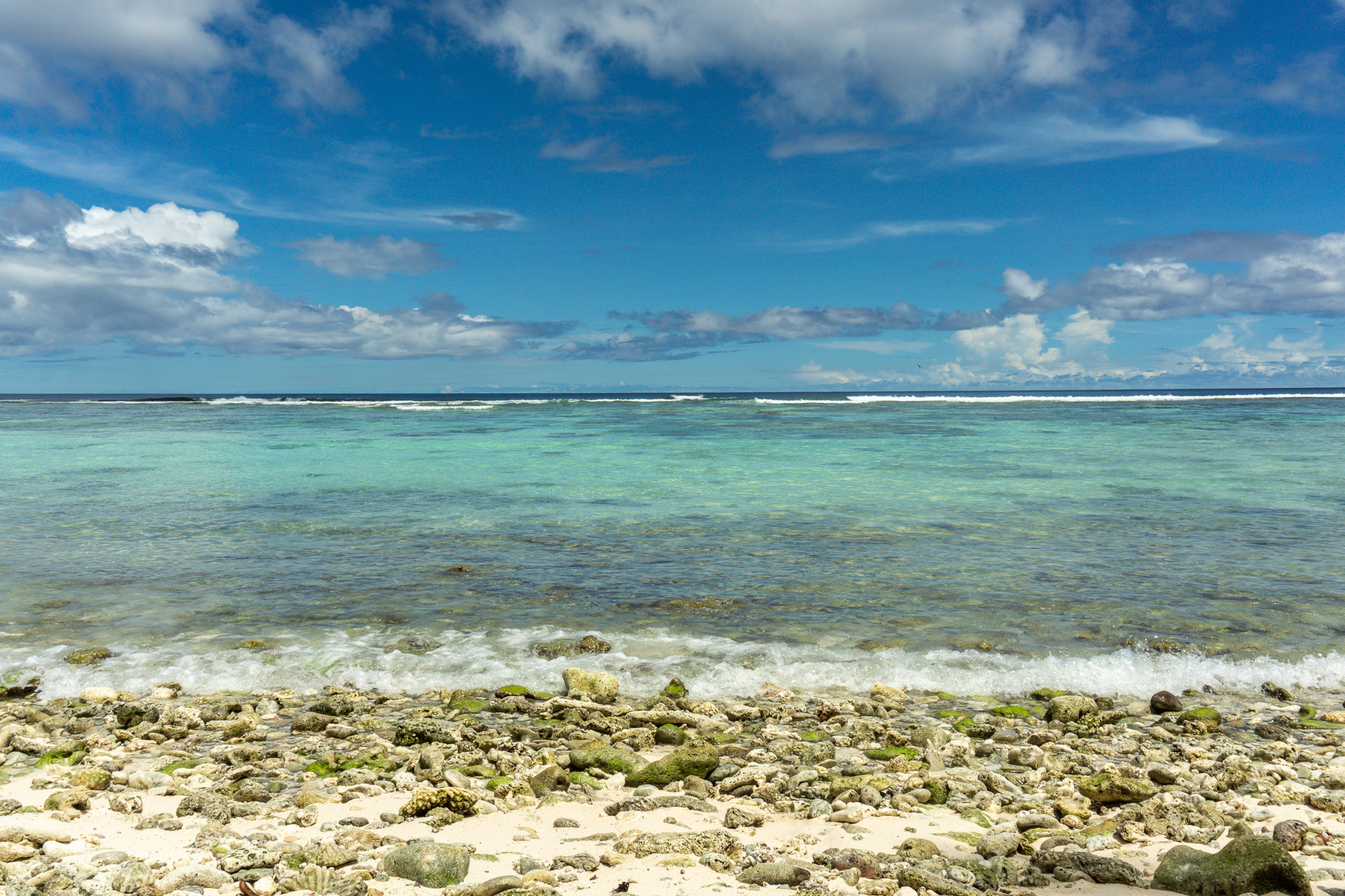 Visiting Guam - Sharks Cove Beach