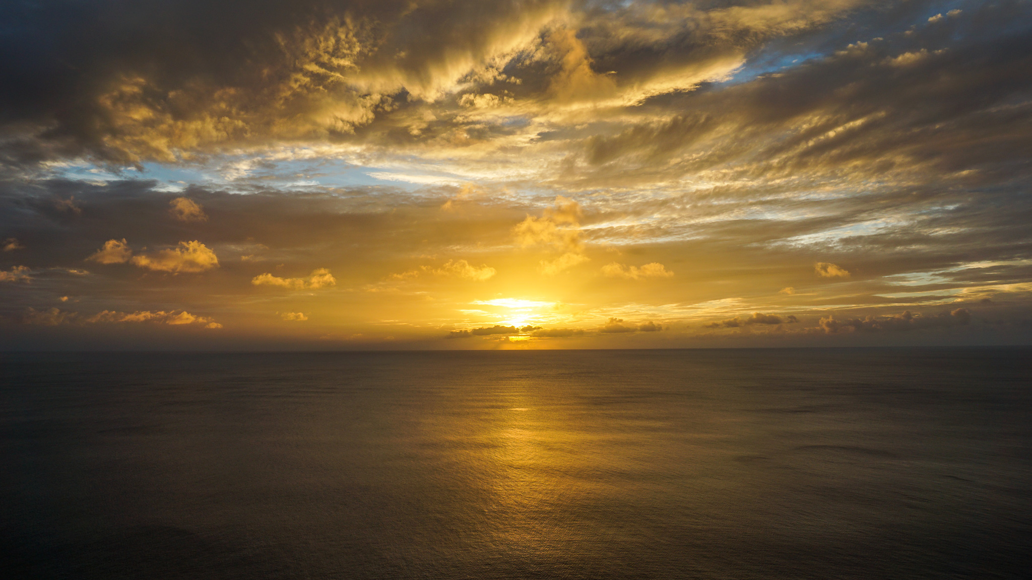 Visiting Guam - Two Lovers Point Sunset