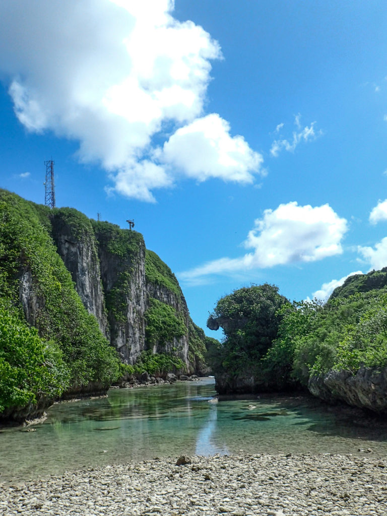 Visiting Guam - Spanish Steps