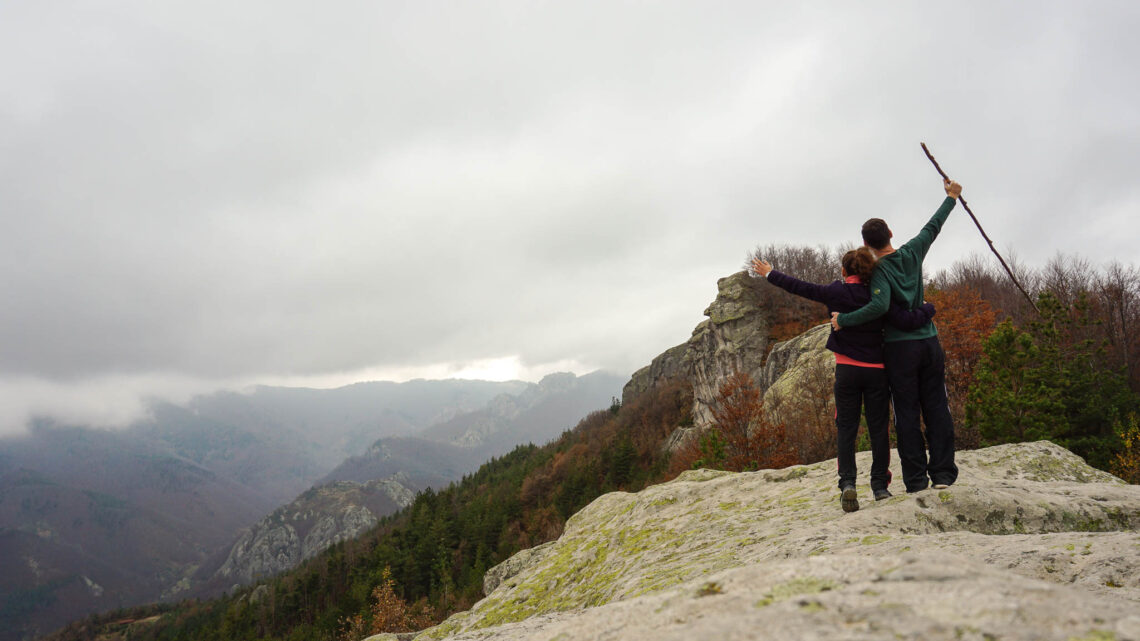 Me and Alex in Rhodope Mountains